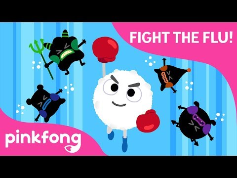 fight-the-flu!-|-stay-healthy-|-pinkfong-rangers-safety-songs-|-pinkfong-songs-for-children