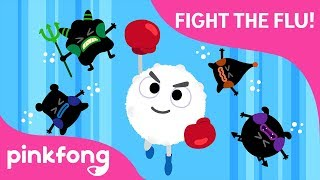 Fight the Flu!   Stay Healthy   Pinkfong Rangers Safety Songs   Pinkfong Songs for Children