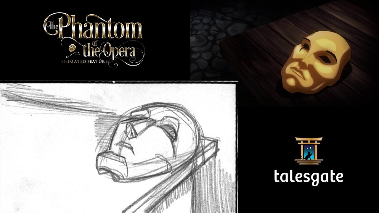 The Phantom of the Opera - Storyboard Comparison