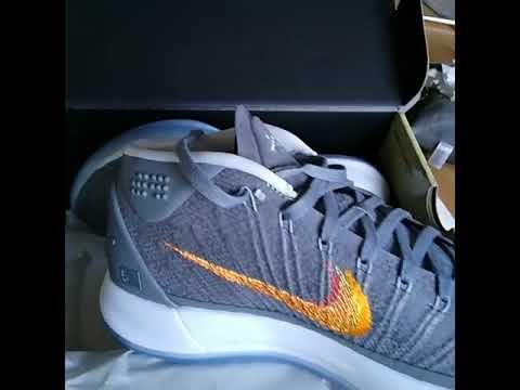 ad6d04e781ba Nike Kobe AD Grey Snake 922482 005 - YouTube