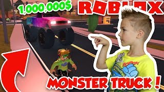 MONSTER TRUCK FOR 1,000,000$ in ROBLOX JAILBREAK | IS IT REALLY WORTH IT?!