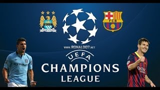 PES 14 - Patch BMPES 1.08 GAMEPLAY Manchester City x Barcelona