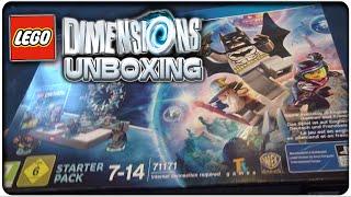 LEGO DIMENSIONS Starter Pack Unboxing + zusammenbauen