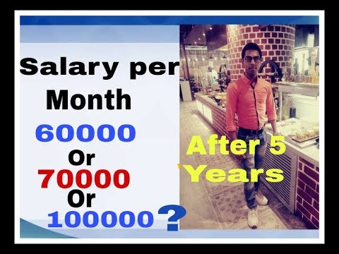 Salary Per Month In Hotel Industry After 5 Years