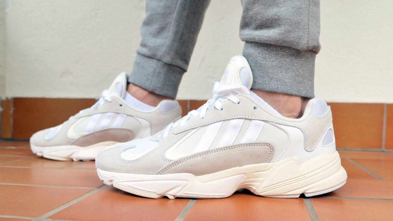 yung 1 adidas on feet