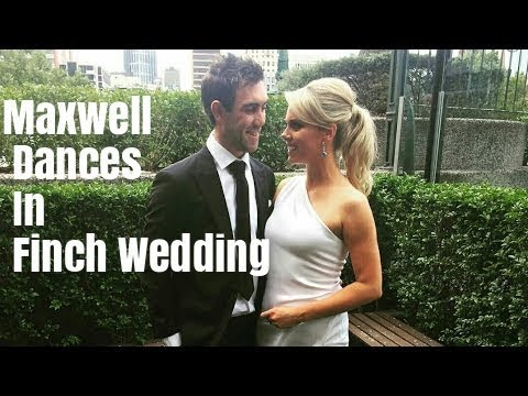 Glenn Maxwell Dance In Aaron Finch Wedding #aaron finch #wedding #marriage #maxwell dance #cricket