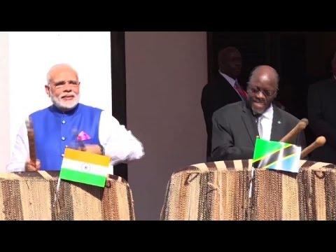 Prime Minister Narendra Modi visits Tanzania