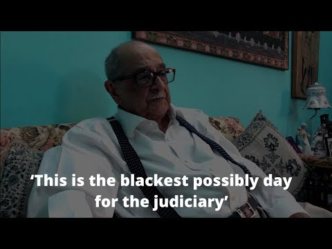 Charges for impeachment are frivolous: Fali S Nariman