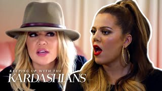 5 Times Khloé Kardashian Couldn't Resist The Drama | KUWTK | E!