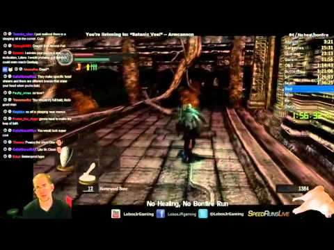 Dark Souls No Healing Items/No Bonfire Challenge Speedrun (no healing, leveling, attuning)