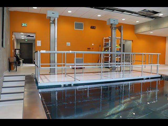 Projet de balnéothérapie de l'hôpital de Chartres - UGECAM centre.