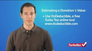 How to Estimate the Value of Clothing for IRS Deductions - TurboTax Tax Tip Video