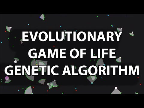 Evolutionary Game of Life with Genetic Algorithm