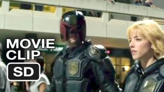 Dredd 3D Movie CLIP - Peach Trees (2012) - Karl Urban Movie