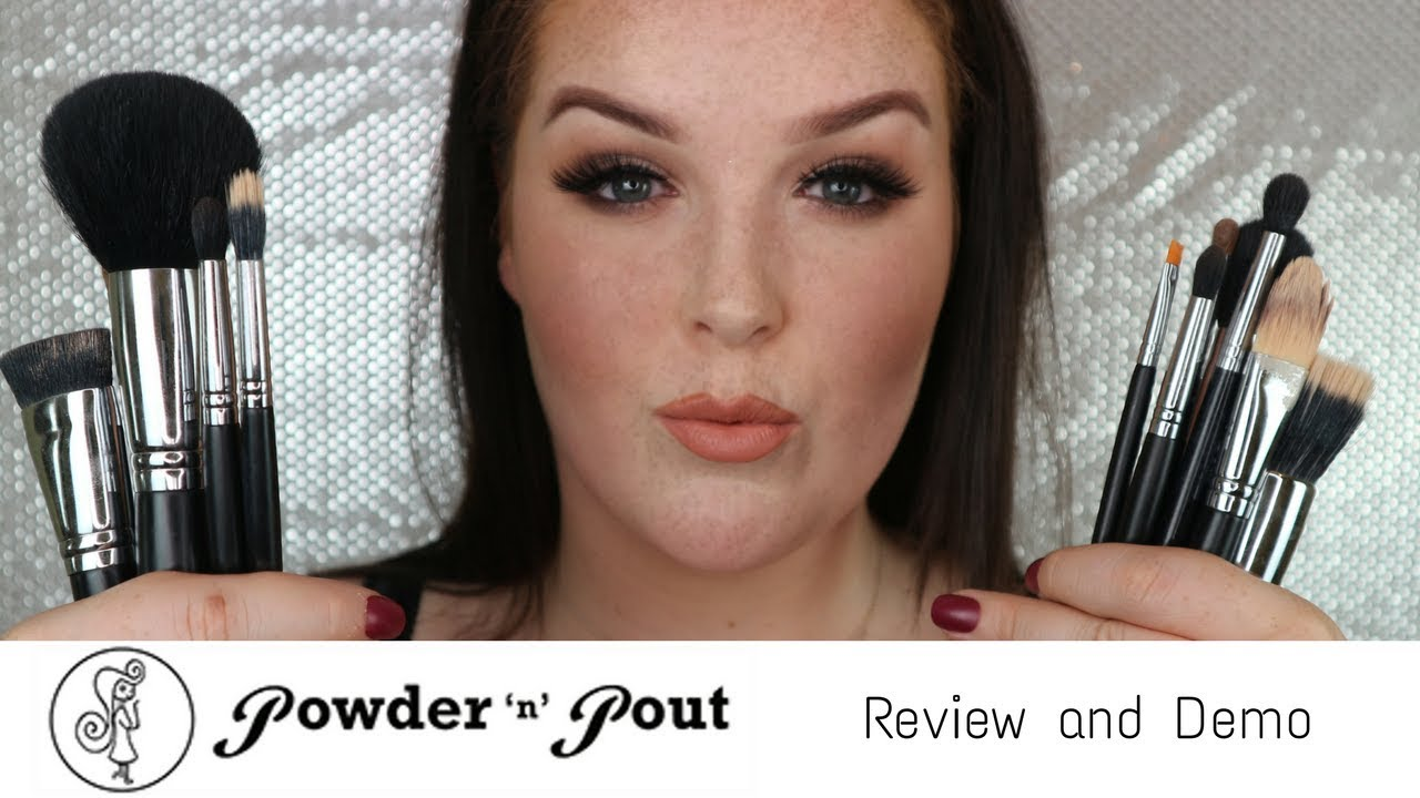 Make Up Brushes From Powder N Pout | Flawless Finish