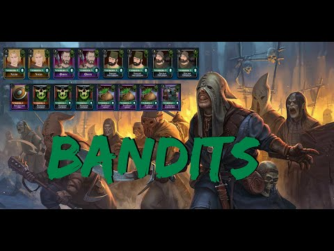 Ash Of Gods: Tactics - Бандиты #1 (ПвП Колода)