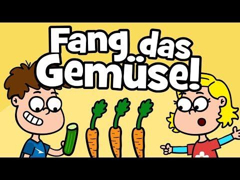 Download ♪ ♪ Kinderlied Familie | Gesunde Ernährung - Fang das Gemüse - Hurra Kinderlieder Mp4 baru