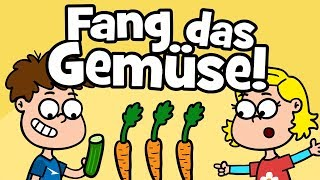 ♪ ♪ Kinderlied Gesunde Ernährung - Fang das Gemüse - Hurra Kinderlieder