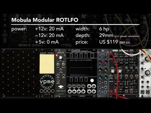 Mobula Modular ROTLFO 1/2: overview (LMS EE)
