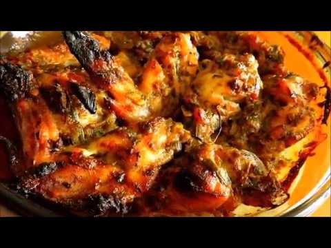 Rjs Fusion Style Oven Baked Chicken Wings Recipe And Process Youtube