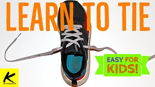 HOW TO TIE YΟUR SHOES - Easy for Kids!