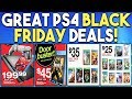 GREAT PS4 Black Friday DEALS REVEALED and FREE Demo for PS4 EXCLUSIVE Out NOW!
