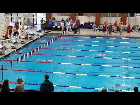 10-15-2016 Will Tippett 400IM Tracy Caulkins pool