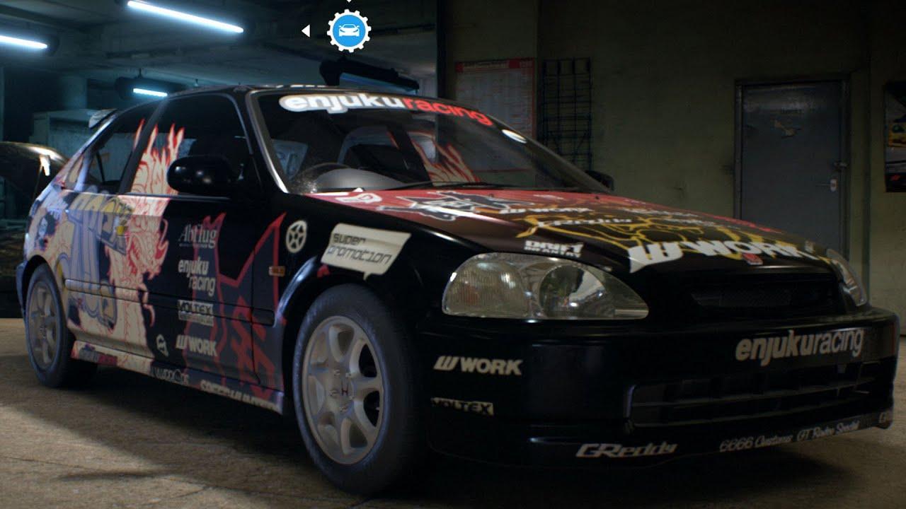 honda civic type     speed  test drive gameplay pc hd pfps youtube