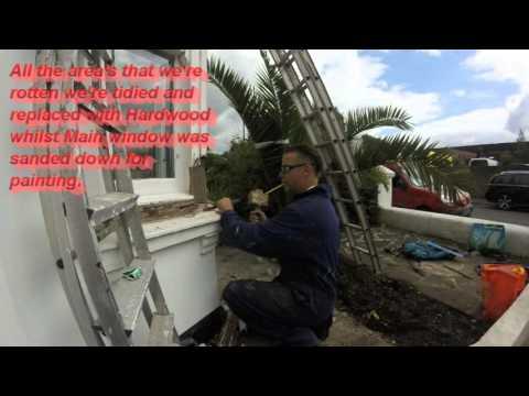 ROTTEN SASH BAY WINDOW REPAIR