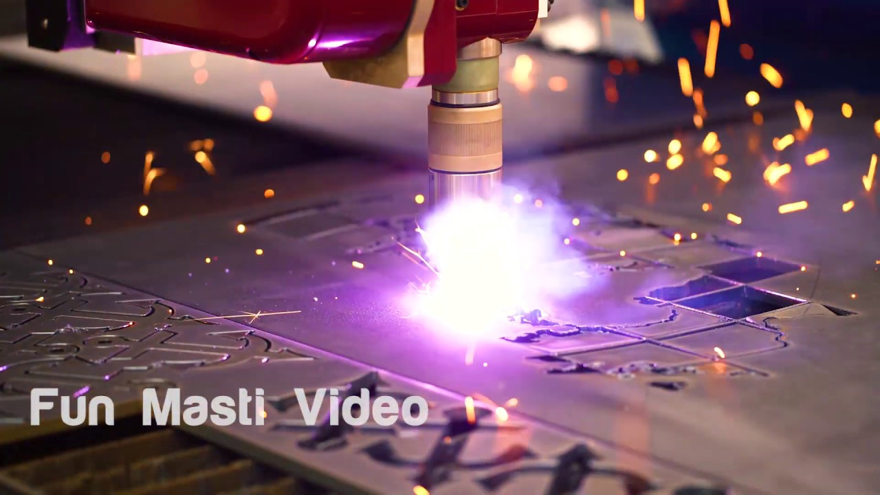 CNC Laser Cutting of Metal, Modern Industrial Technology