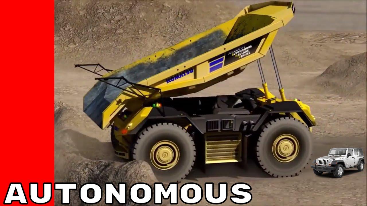 Komatsu Autonomous Dump Truck Youtube