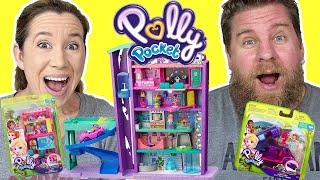 Polly Pocket Surprise Box - Pollyville Mega Mall Playset