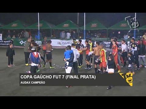 Copa Gaúcho Fut 7 (FINAL - Prata)  Abrego Lami 3 X 4 Deportivo Audax. Travinha  Esportes 5a36e7c9f2a0b