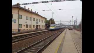 2x 160 km/h - Pendolino+Leo Express
