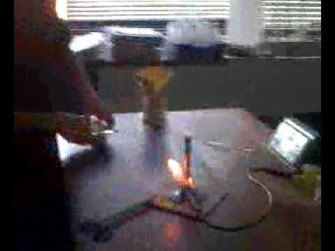 Magnesium Oxide Reaction