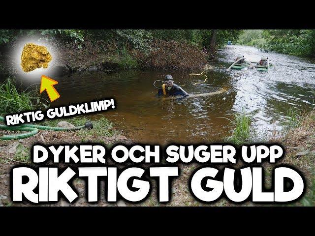 Dyker Och Suger Upp Guld - Hittar Riktig Guldklimp!