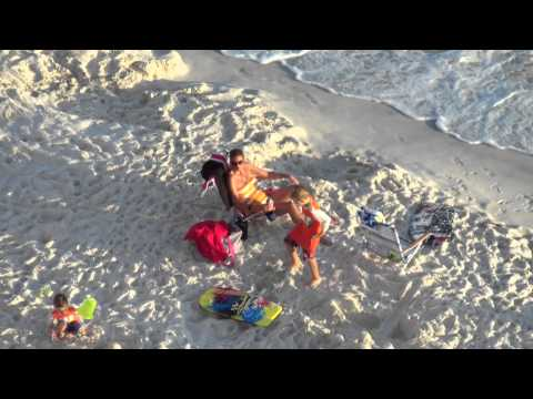 *ZOOM TEST* Samsung H300 HD Flash Memory Camcorder on Panama City Beach Florida