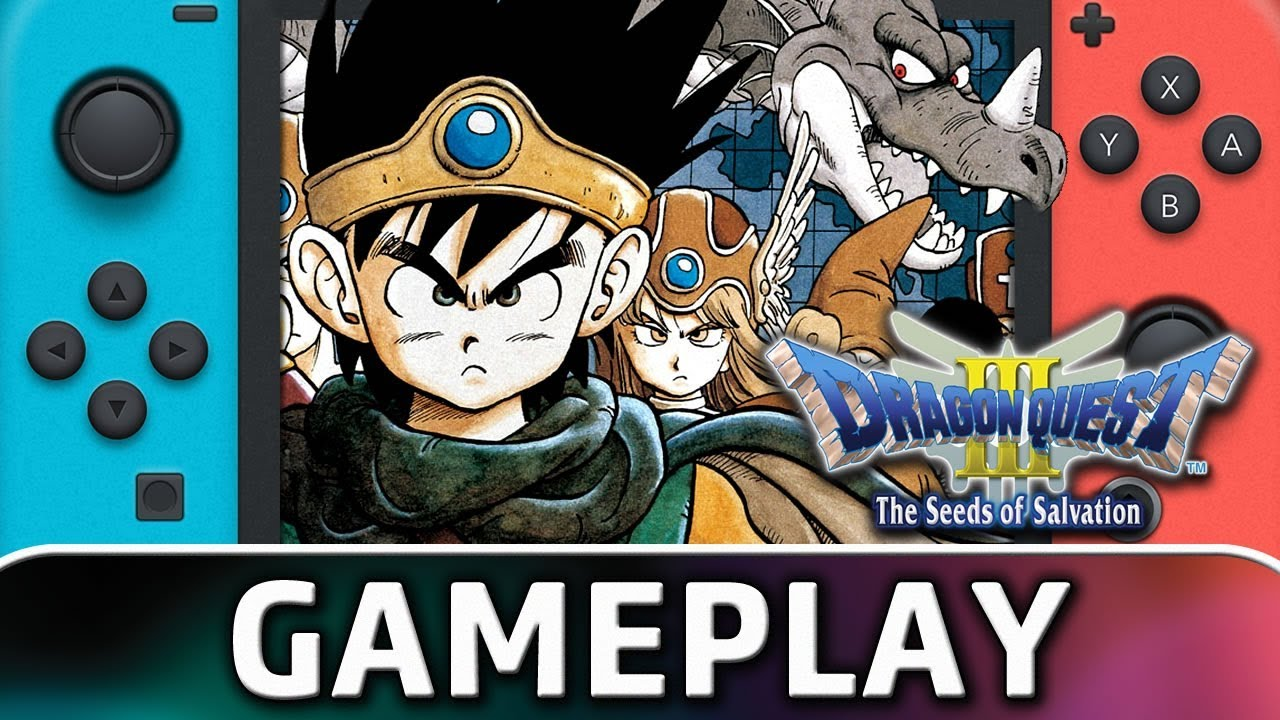 DRAGON QUEST III: The Seeds of Salvation | First 10 Minutes on Nintendo Switch