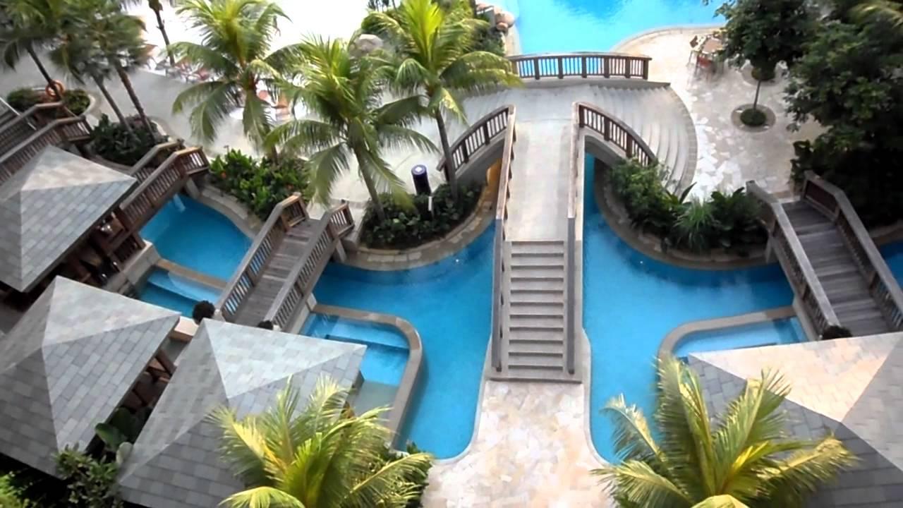 Hard rock hotel sentosa bird 39 s eye view swimming pool - Swimming pool singapore opening hours ...