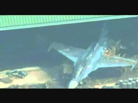 Japan Tsunami 2011: New Footage showing Jets in Mud. 17 March 2011
