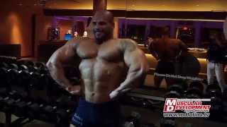 Muscular Development & Sergio Fernandez Campeón del Overall NPC Europa Super Show Orlando 2014