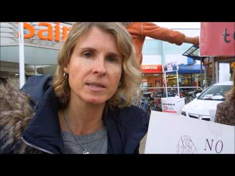 Mums Say No to GMO's demonstration in Bristol UK