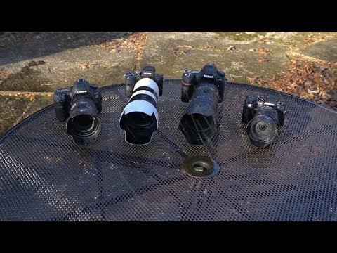 Weather Sealing Test: Nikon D850 vs Sony A7R III