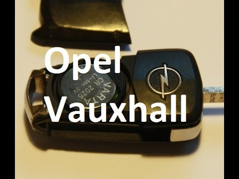 how to replace battery in keyfob vauxhall opel zafira. Black Bedroom Furniture Sets. Home Design Ideas