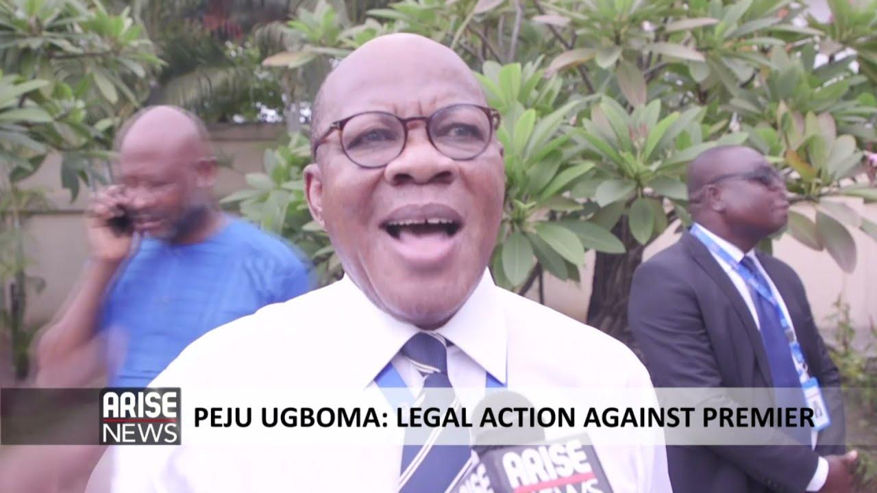 Download PEJU UGBOMA: LEGAL ACTION AGAISNT PREMIER - ARISE NEWS REPORT