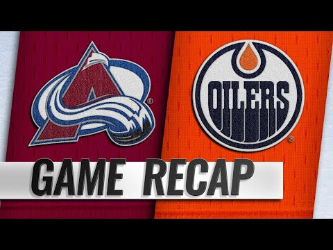 Avalanche beat Oilers to snap skid