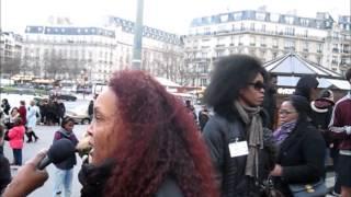 MANIF VS BOKO HARAM PARIS 18 JANVIER 2015