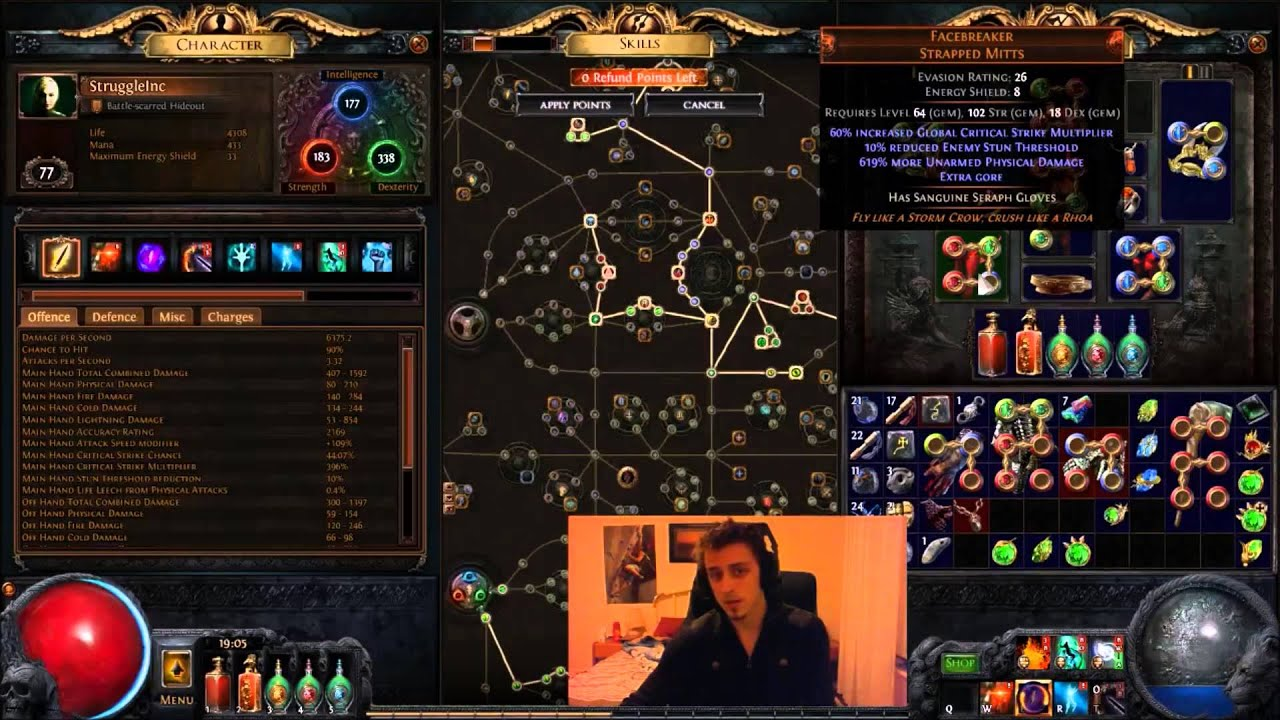 Build Spectral Throw   Viable Poe