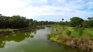 Cocoa Beach's Secret Park by Drone Aerial Video