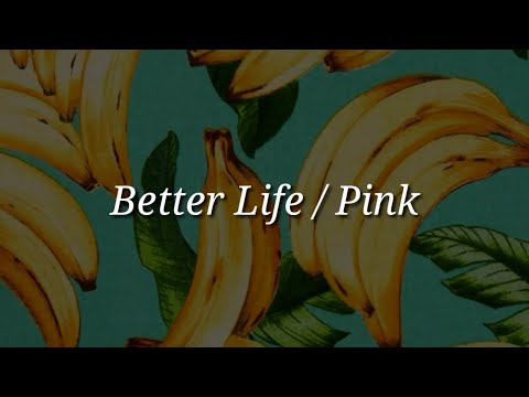 Pink - Better Life (Lyrics)